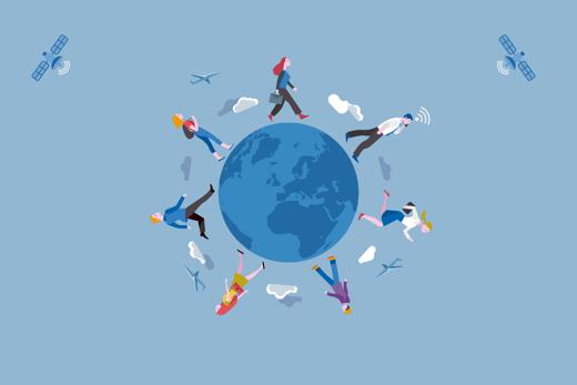 people-walking-around-world
