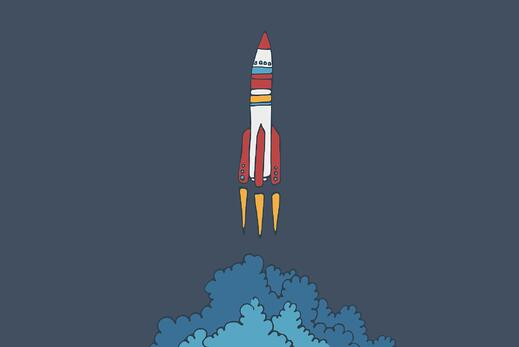 rocket ship launch