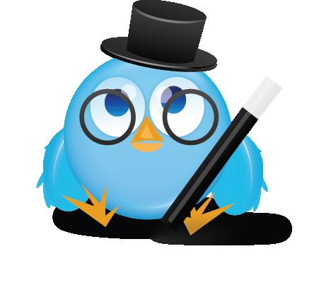 Magical Twitter bird