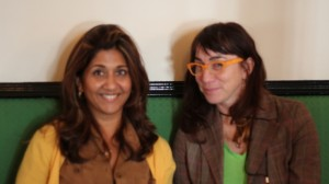 Nilofer and Heather