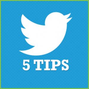 5 twitter tips