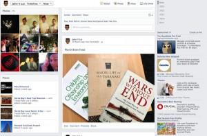 Facebook Timeline Navigation Changes