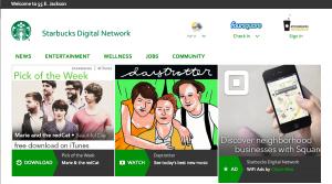 Starbucks content network