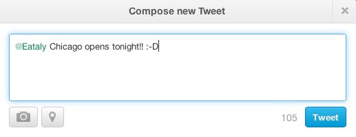 Wrong Way to Compose a Tweet