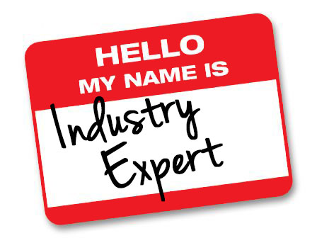 hello my name is... industry expert
