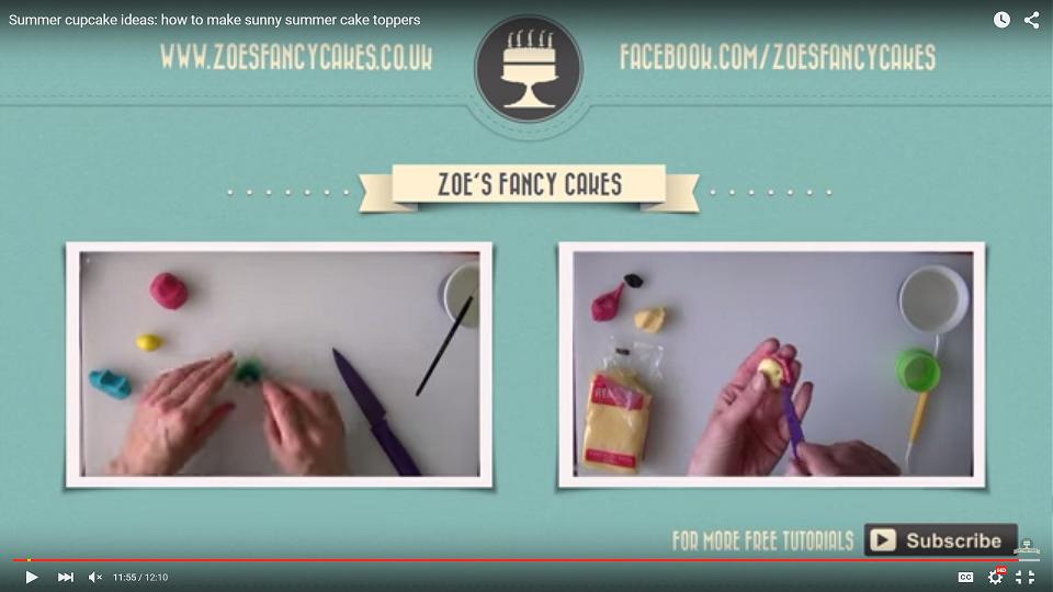 Zoe Fancy Cakes CTA