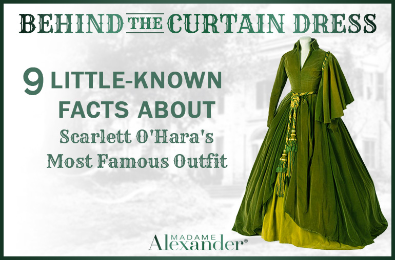 9 Little-Known Facts About Scarlett O'Hara's Curtain Dress