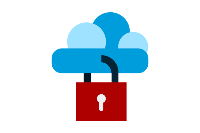 Cloud software illustration