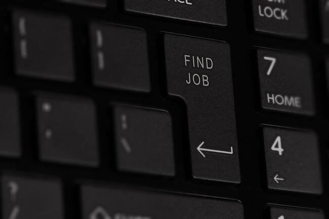 Finding a job image