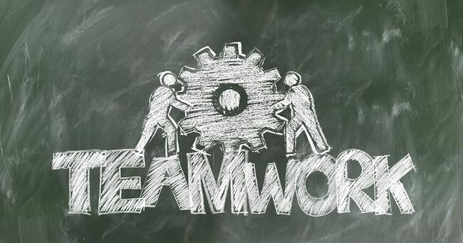 Teamwork with an outsourcing partner