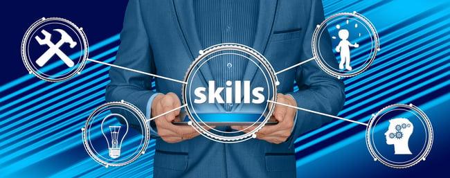 Recruiter skills illustration