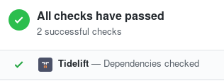 GitHubDependenciesChecked