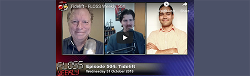 Luis Villa talks Tidelift with Randal and Jonathan on the FLOSS Weekly podcast