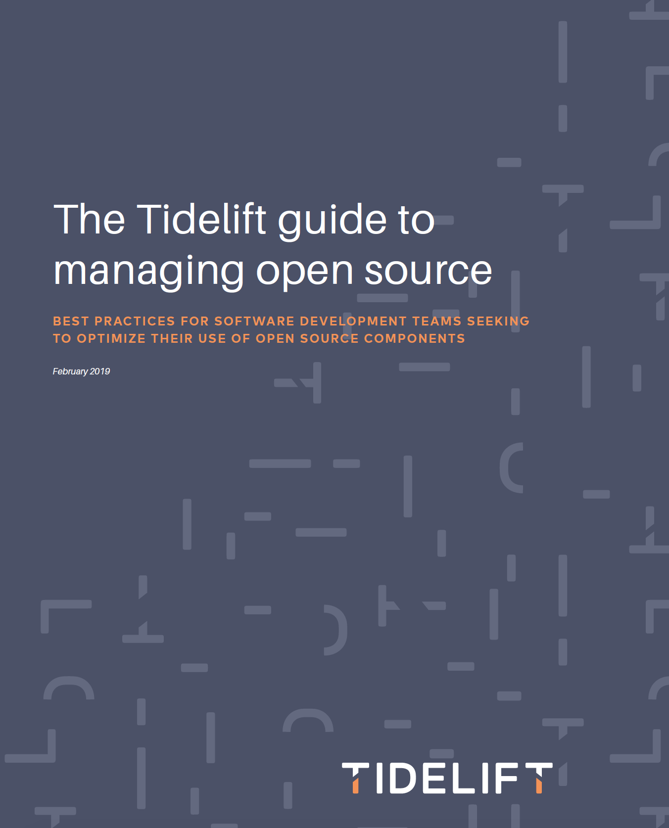 The Tidelift guide to managing open source
