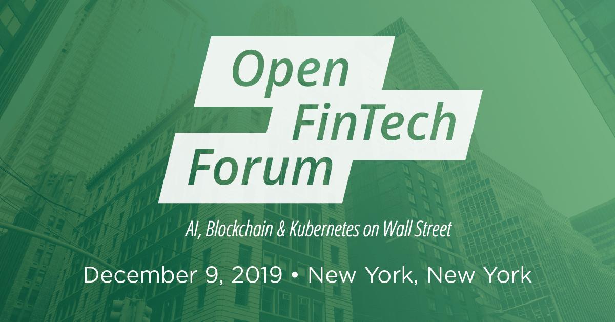 Open FinTech Forum