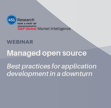 Managed open source: best practices for application development in a downturn