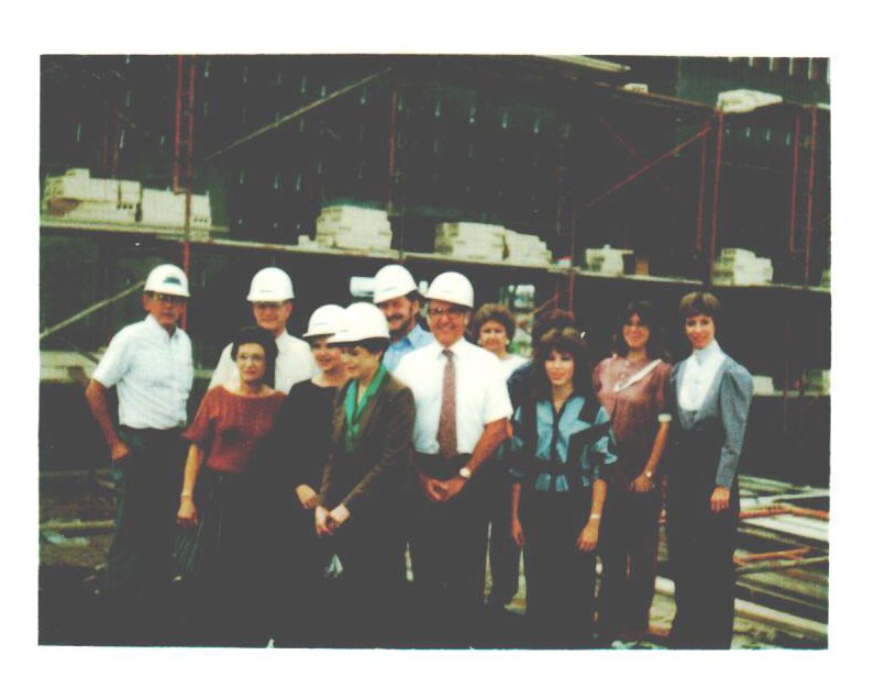 America's Credit Union groundbreaking 1985