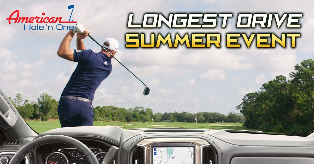 August's Longest Drive Summer Event!