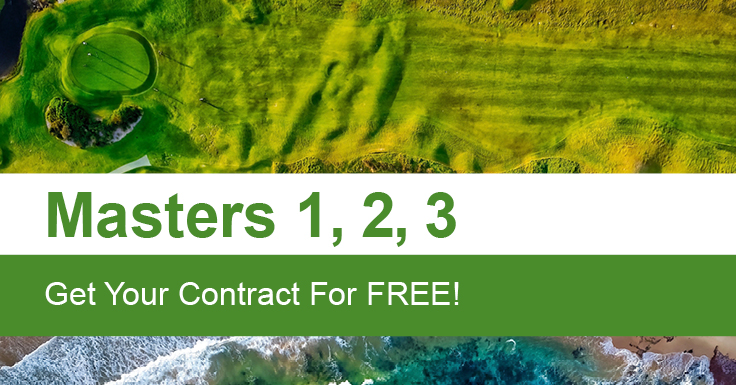 Masters 1, 2, 3 - Get Your Contract For Free!