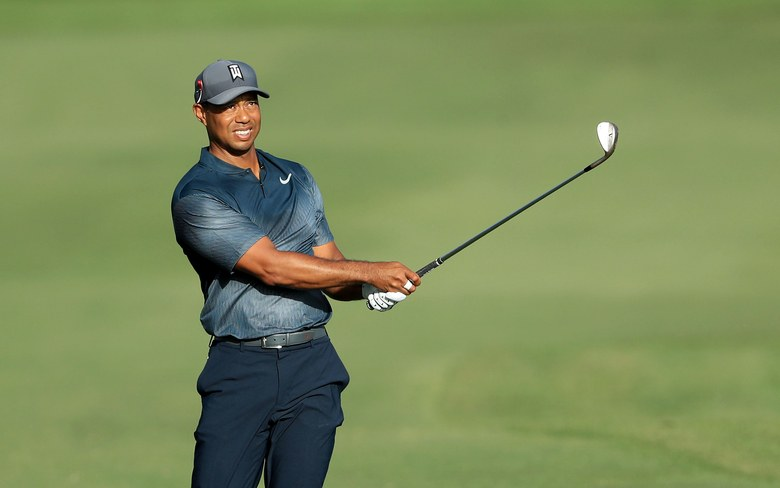 Tiger Woods on the Rise