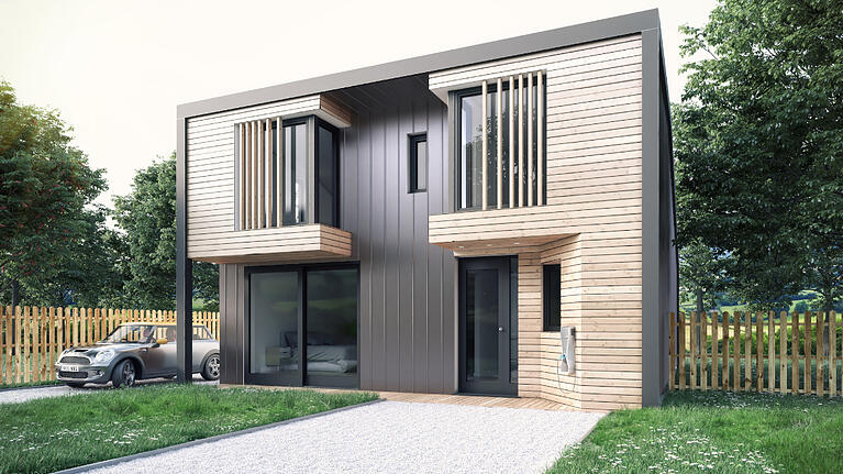 Designs for self-build homes