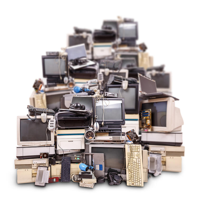 "Electronic waste, or ""e-waste"" as it's called, is one of the fastest growing kinds of waste in our world today."