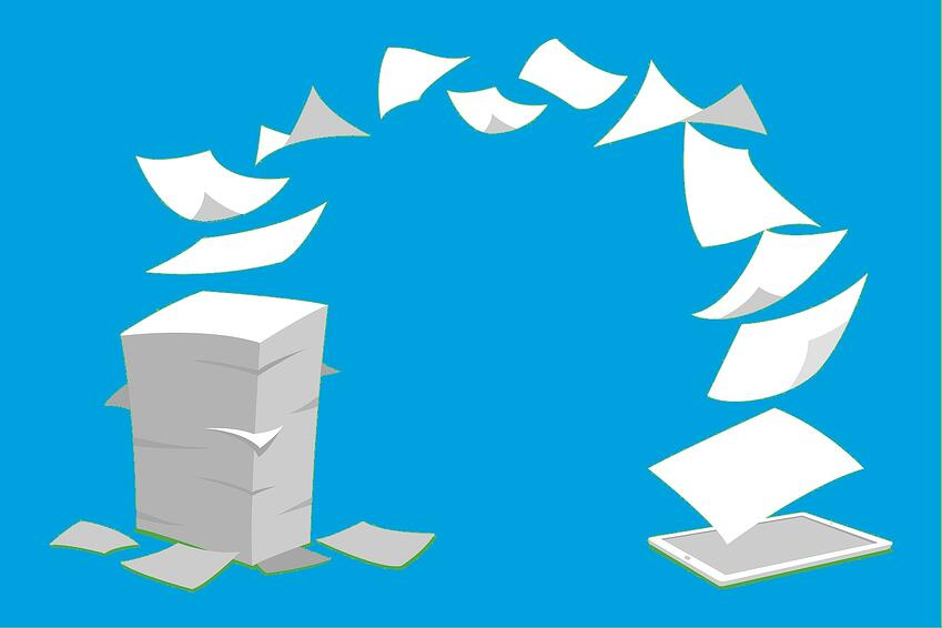 Stop taking 18 minutes to find your paper files with a Document Management solution.