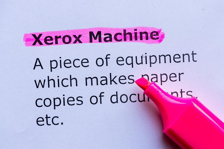 It's hard to think of copiers without thinking of Xerox - and there's a good reason why.