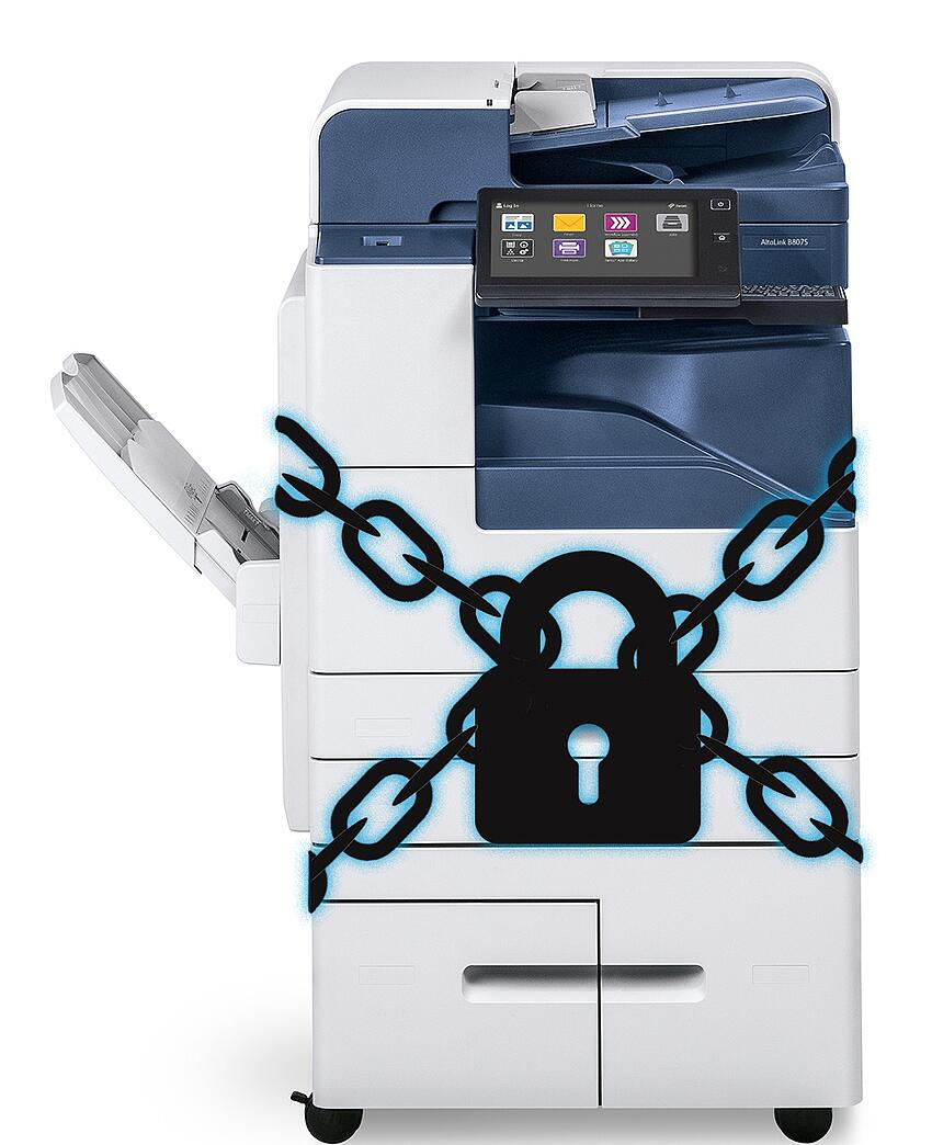 Protect your SMB's sensitive data with Xerox hard drive security and worry less.