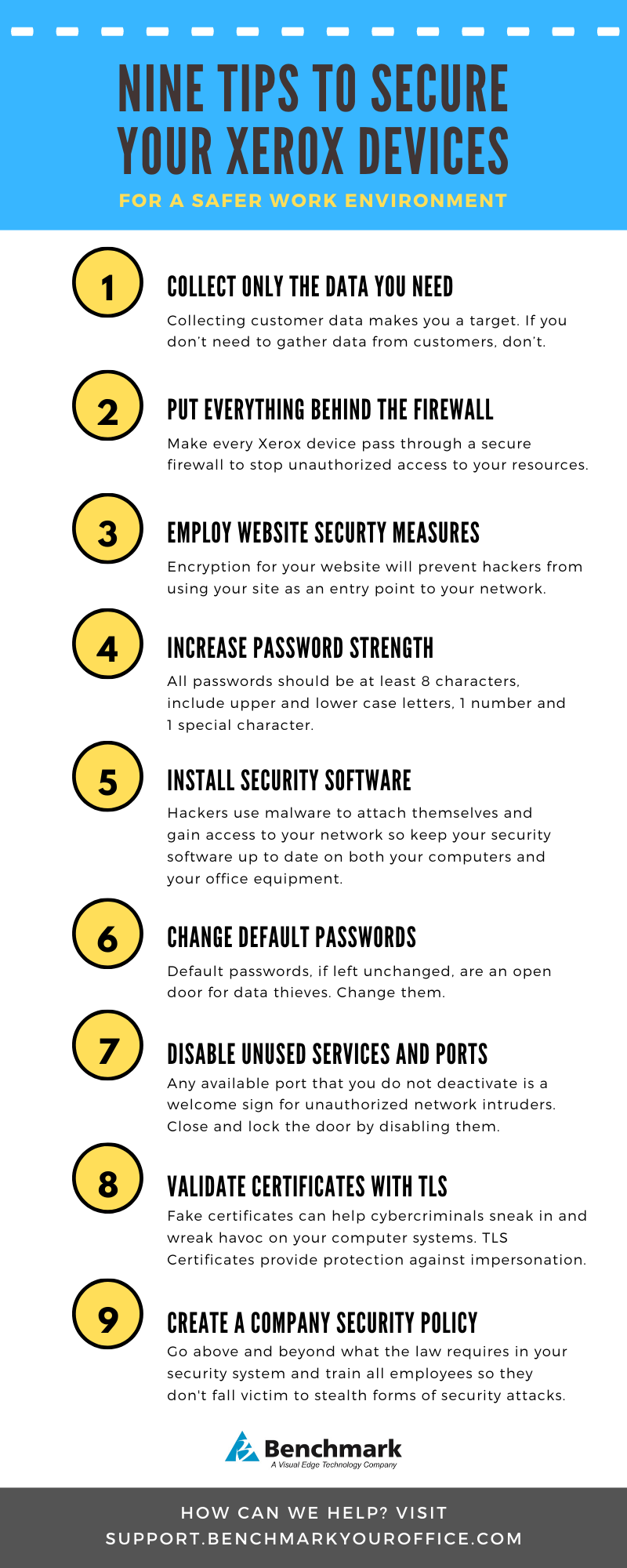 infographic - tips to secure your devices