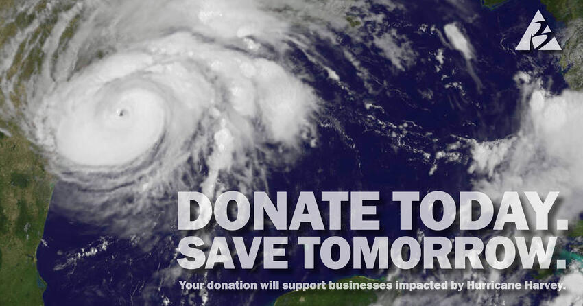 picture of Hurricane Harvey