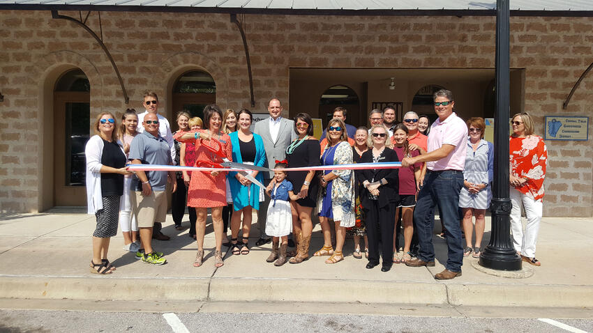 On May 24, 2017, Benchmark hosted a grand opening event at the new office location in Graham, home of Benchmark's President and CEO, Jeff Horn.