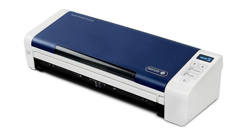 The Xerox® Duplex Portable Scanner is designed to streamline paper-ridden processes that bog down employee productivity.