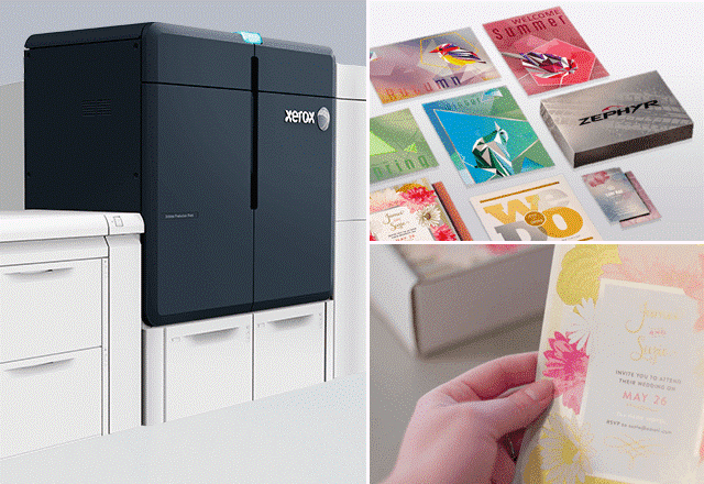 """The Iridesse allows us to offer our customers something subtly different without the added cost,"" says Scott Espinoza, CEO of Apartment Ideas and owner of the country's first Xerox Iridesse production printer."