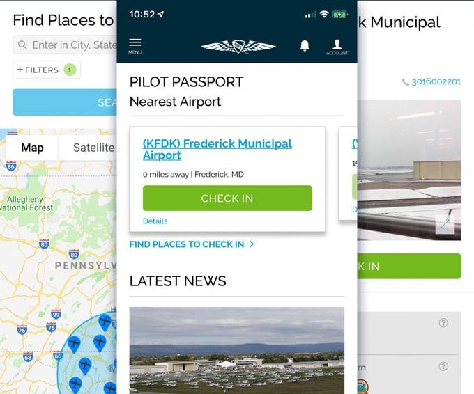 Client Work: AOPA Pilot Passport Initiative
