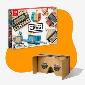 Thinking Inside the Box with Nintendo Labo and Google Cardboard