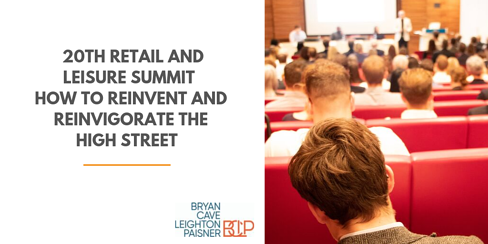 Local Data Company's 20th Retail & Leisure Trends Summit – how to reinvent retail and reinvigorate the high street