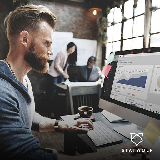 Driving a 310% increase in leads for Statwolf through content