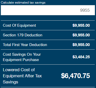 3d printer equipment tax deduction