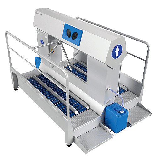 Chemical dispensers (with turnstile)