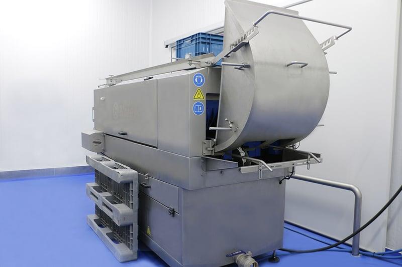 Een krattenwasser aanschaffen: het proces van oriëntatie tot productie