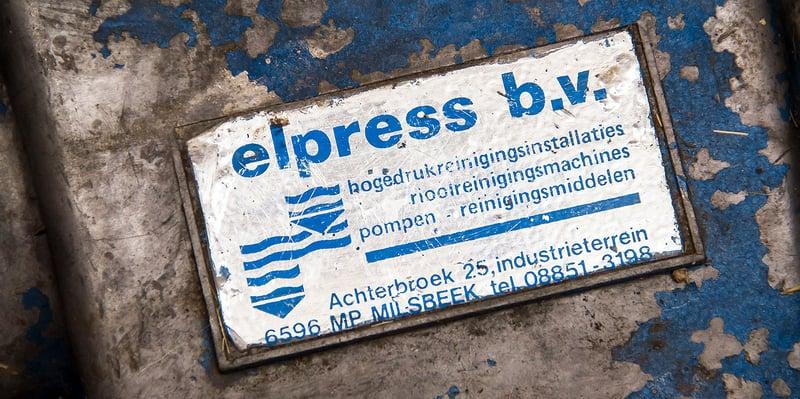40 jaar Elpress: gegroeid tot toonaangevende producent van reinigingssystemen