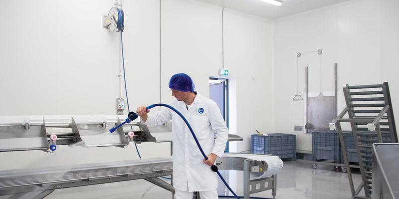 Open Plant Cleaning: een totaaloplossing voor een hygiënische bedrijfsruimte