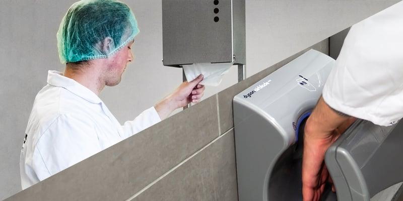 Suszenie rąk: kiedy w firmie przyda się elektryczna suszarka do rąk?