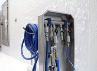 Mobile Abnahmestationen