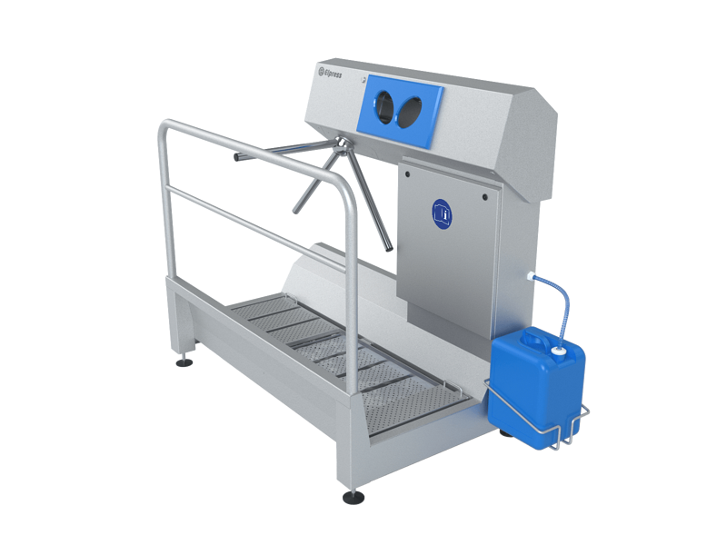 Elpress - reference - Sole disinfection and hand disinfection