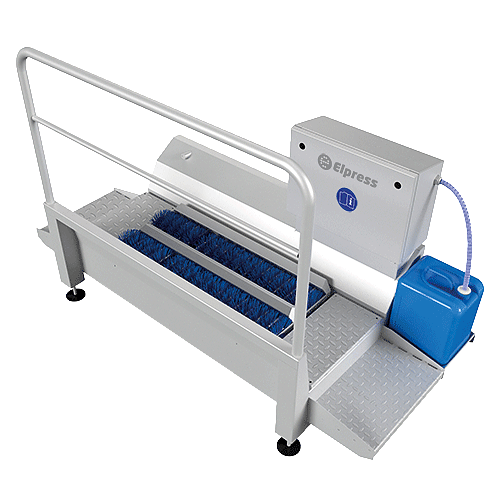 DZW-1000-R Sole cleaners Elpress