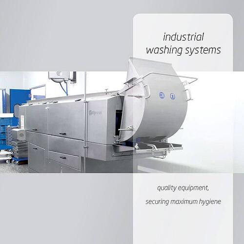 Brochure Industrial Washing Systems