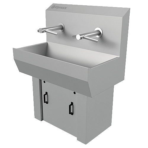 Wash basins with hand dryer- EWG-2S-DYSON_2