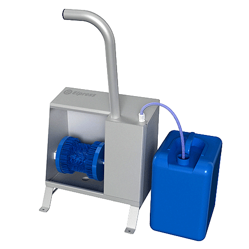 Lavadoras de suelas y bordes